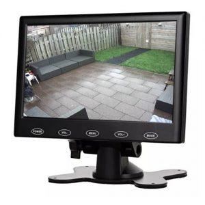 7 inch TFT LCD monitor met AV VGA en HDMI aansluiting