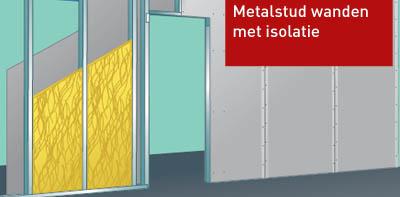 Metalstud wanden
