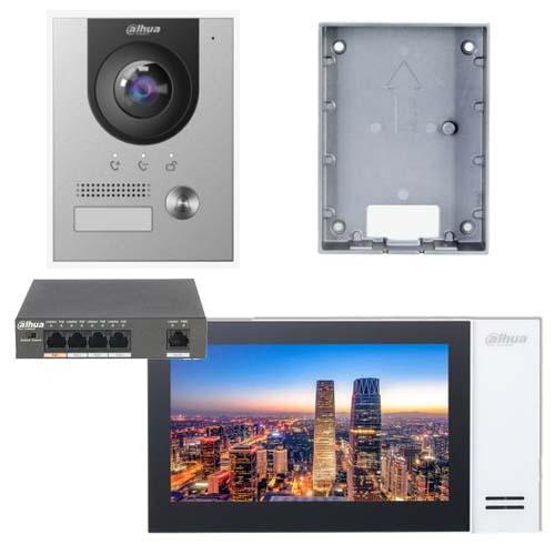 Dahua Intercom IP kit KTP01 opbouw