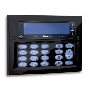 Texecom Diamond Black codebediendeel opbouw (DBD-0130)