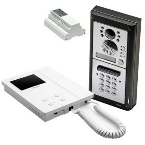 Videx 4000 serie buitenpost code inbouw, binnenpost 6200 serie, 2-draads