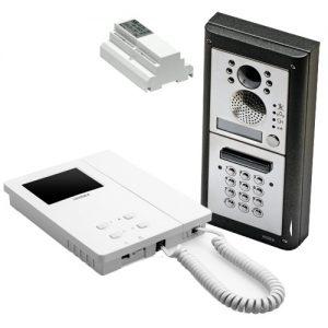Videx 4000 serie buitenpost code opbouw, binnenpost 6200 serie, 2-draads
