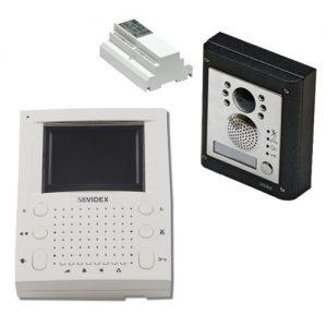 Videx 4000 serie buitenpost inbouw, binnenpost 5000 serie, 2-draads